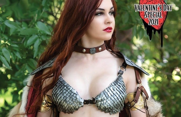Love is in the air with Red Sonja and Vampirella Valentine's Day Specials 2021