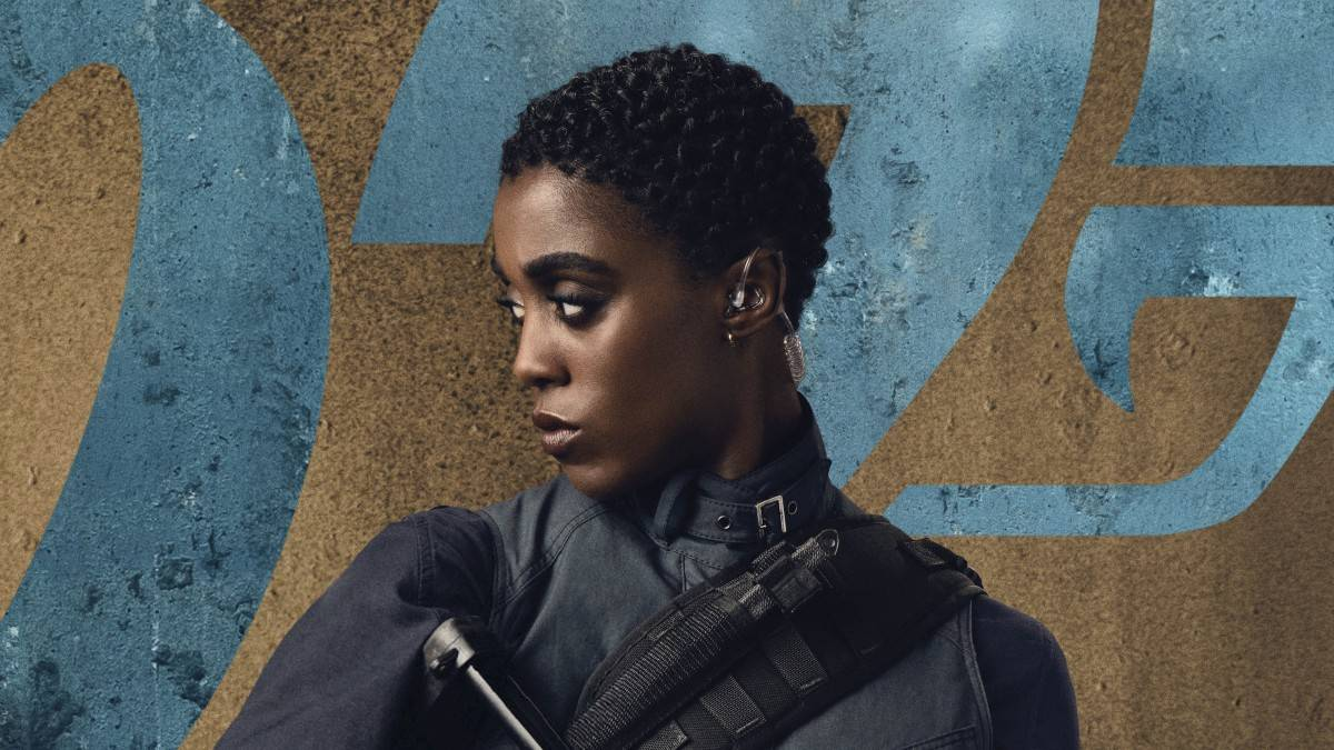 Lashana Lynch on taking on the role of the new 007 in No Time To Die