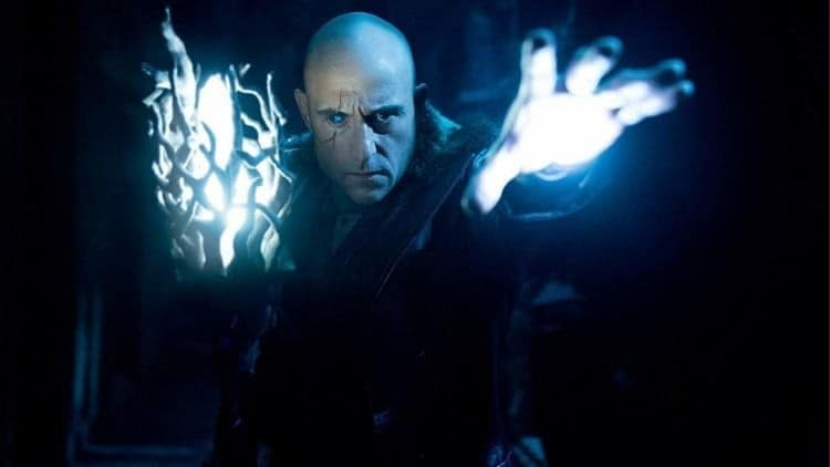 Shazam! star Mark Strong offers an update on the DC sequel Shazam! Fury of the Gods