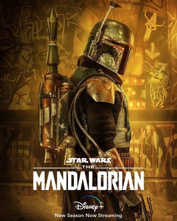 Boba Fett returns on new poster for The Mandalorian