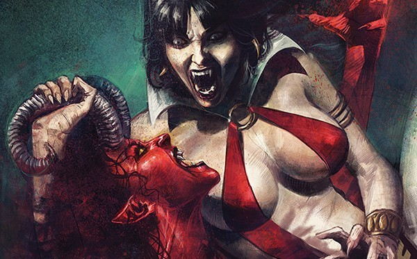 Vampiric vixens to clash in Vampirella vs Purgatori