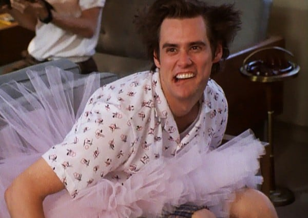 ace-ventura-pet-detective-insane-asylum-tutu-larry-jim-carrey-review