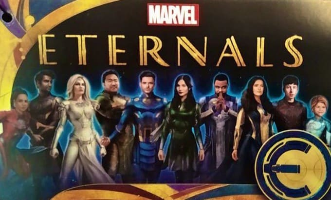 Get A New Look At Marvel S Eternals With Leaked Promo Artwork