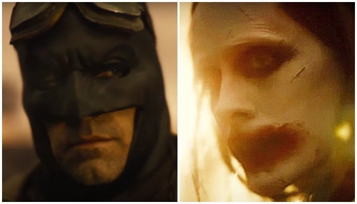 Zack Snyder felt it important for Batman and The Joker to share a scene in Justice League
