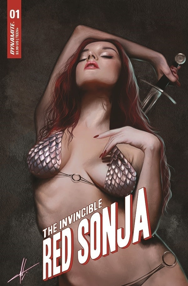 Dynamite announces Invincible Red Sonja