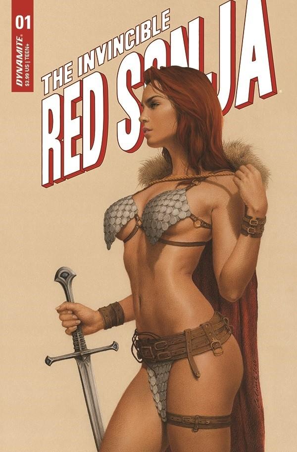 Dynamite announces Invincible Red Sonja