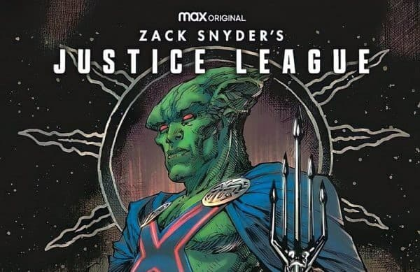 DC's Justice League Snyder Cut variant covers 'Unite the Seven' with inclusion of Martian Manhunter