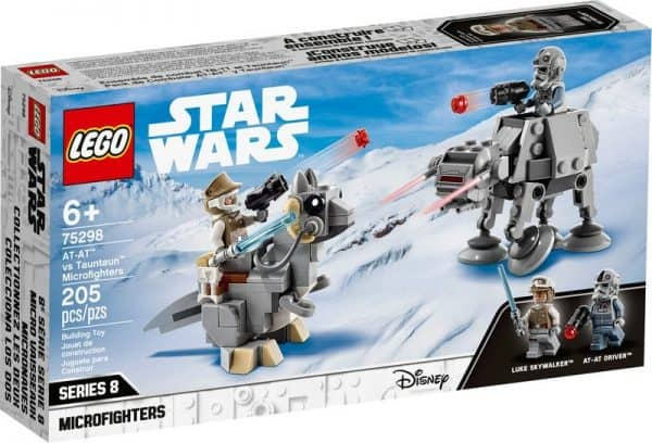 LEGO-Star-Wars-AT-AT-vs-Tauntaun-Microfighters-75298-600x408