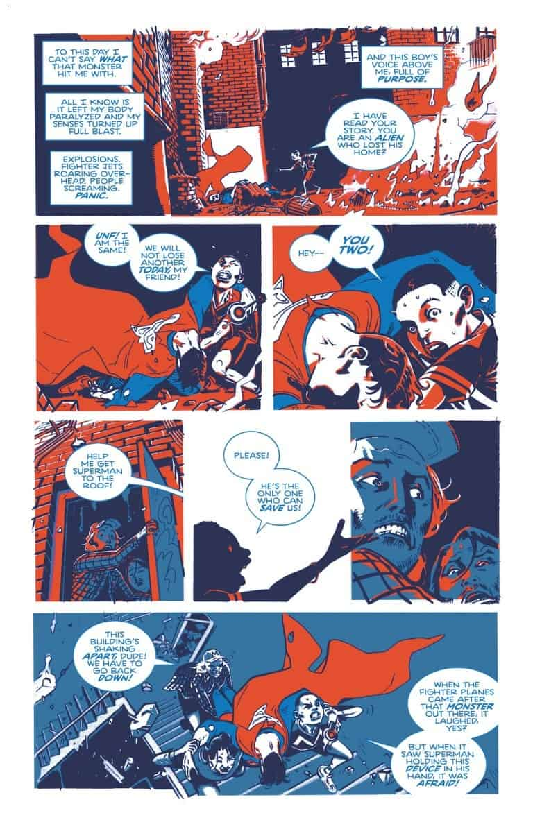 Superman: Red & Blue DC Comics