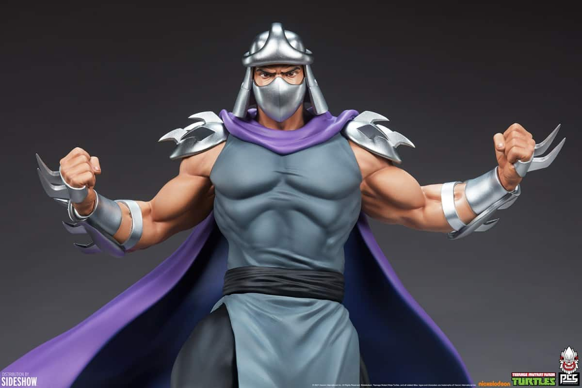 The Shredder quarter scale Teenage Mutant Ninja Turtles collectible statue available to pre-order