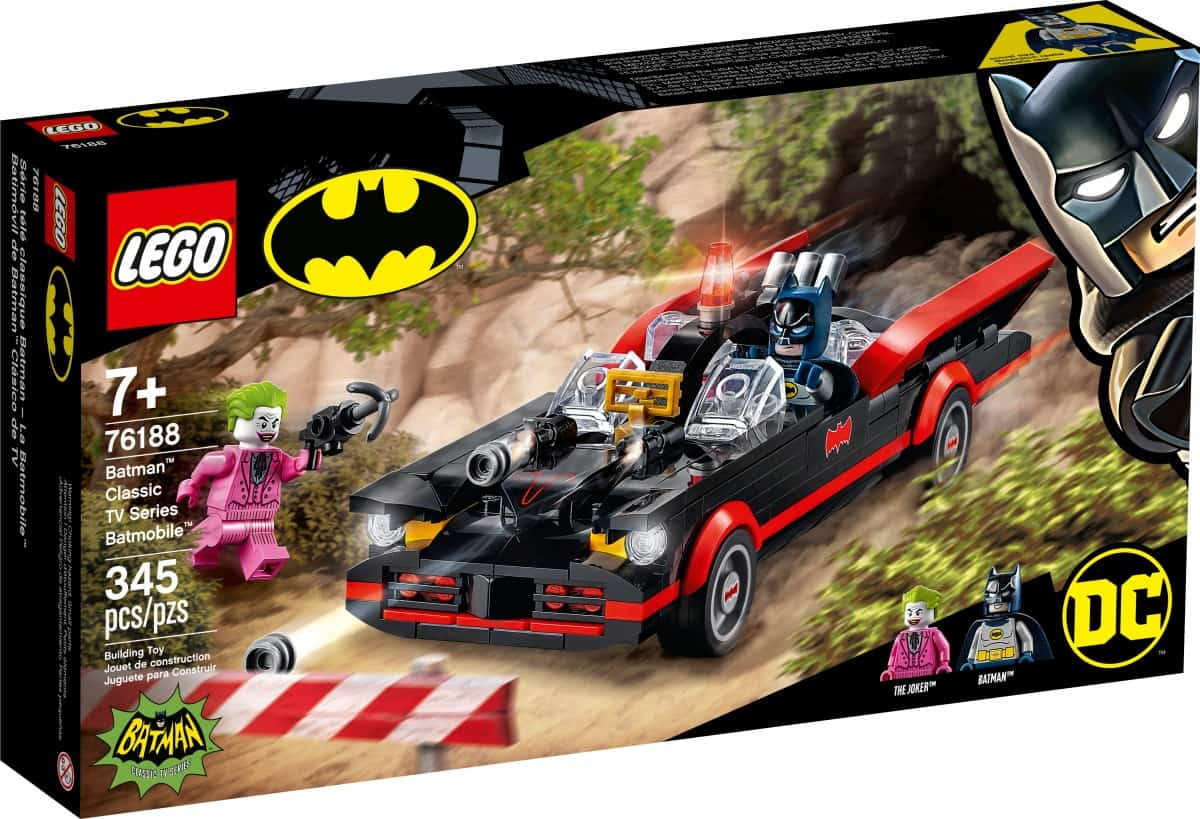 LEGO unveils new Batman sets including classic 1966 Batmobile