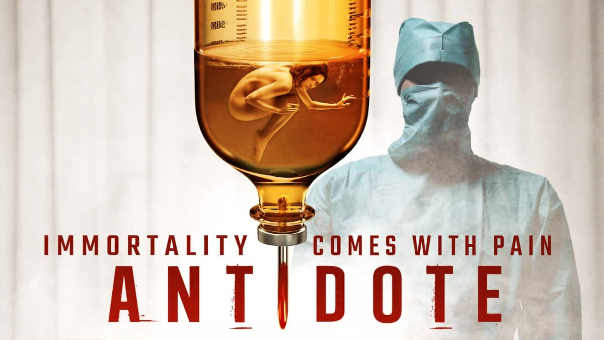 Trailer, poster and images for horror film Antidote