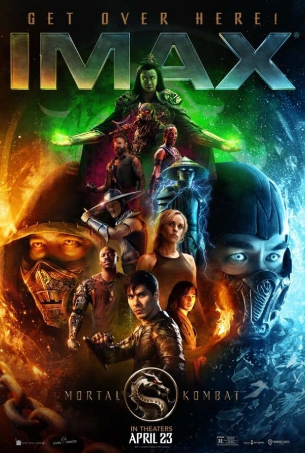 Mortal Kombat gets an IMAX poster and Techno Syndrome 2021!
