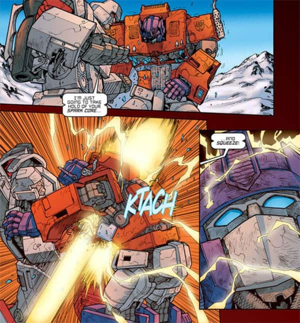 Transformers-Ecalation-Optimus-Prime-vs-Megatron