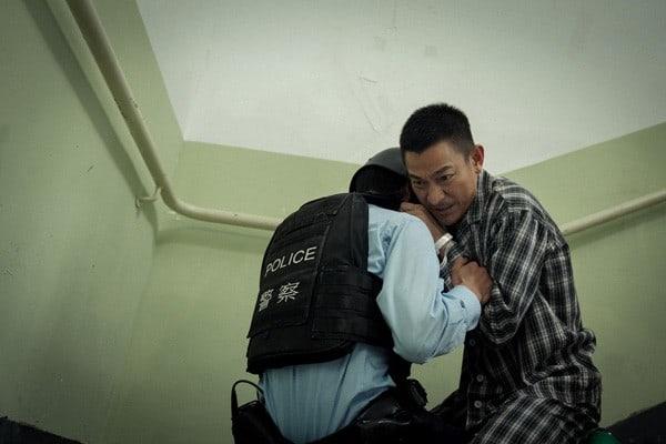 Andy-Lau Fight Police Shockwave Hong Kong Destruction